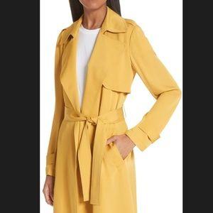 dbb40a4588 Theory Jackets & Coats | Oaklane Silk Trench Coat Size Small | Poshmark